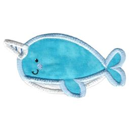 Boxy Narwhal Applique
