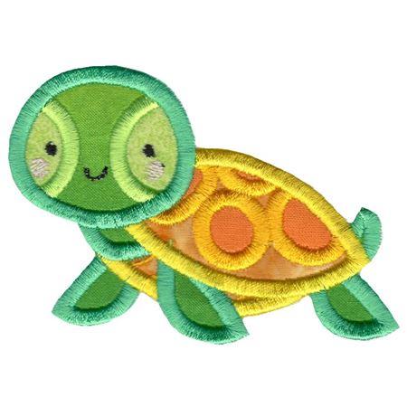 Boxy Turtle Applique