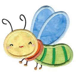 Cute Dragonfly Applique