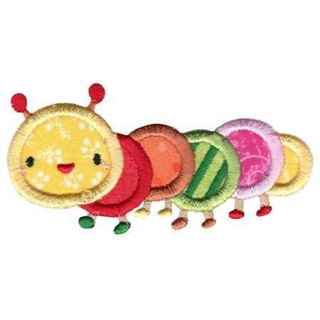 Cute Caterpillar Applique