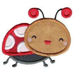 Cute Ladybug Applique