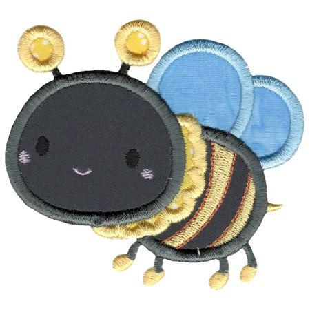 Cute Bumble Bee Applique