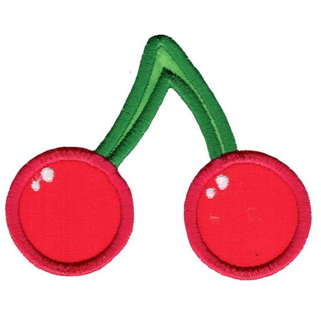 Cute Cherries Applique