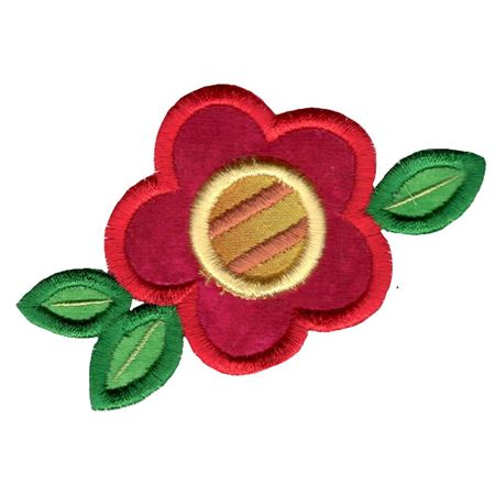 Cute Flower Applique