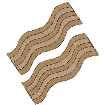 Bacon Strips Feltie