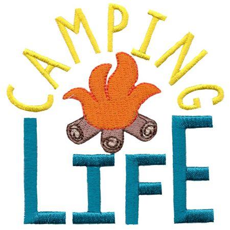 Campfire Camping Life
