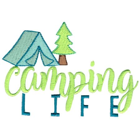 Tent and Tree Camping Life