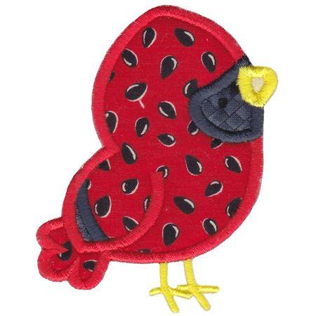 Cardinal Applique