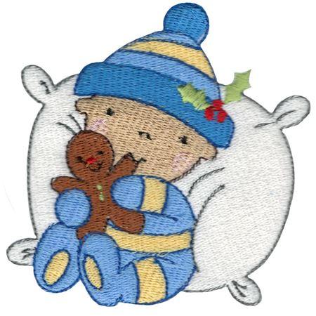 Baby Eating Gingerbread Man