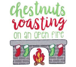 Chestnuts Roasting On An Open Fire