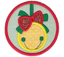 Christmas Bell ITH Coaster