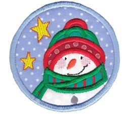 Snowman ITH Coaster