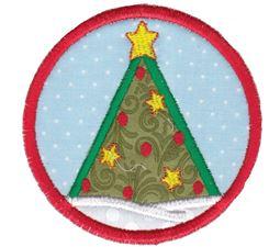 Christmas Tree ITH Coaster