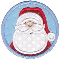 Santa ITH Coaster
