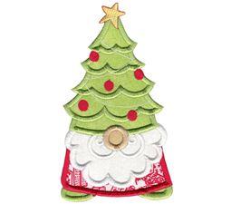 Christmas Tree Hat Gnome Applique