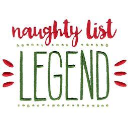 Naughty List Legend