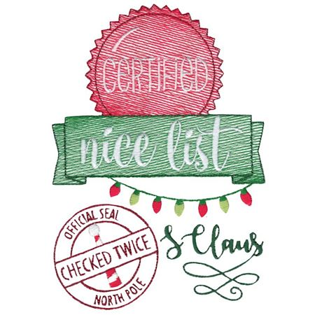 Certified Nice List