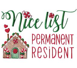 Nice List Permanent Resident