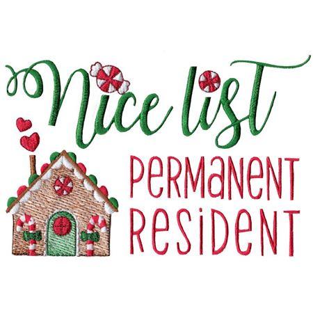 Nice List Permanent Resident