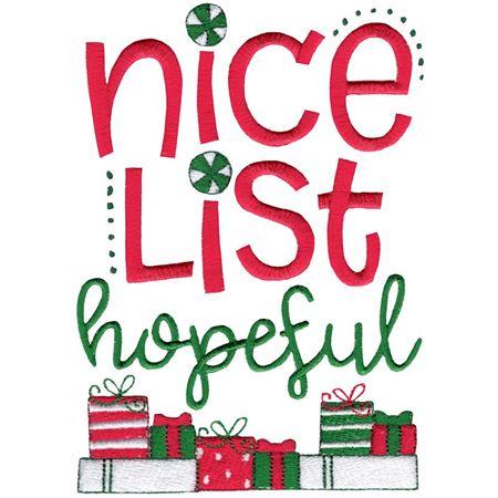 Nice List Hopeful