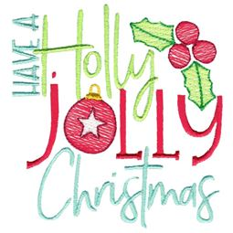 Have A Jolly Holly Christmas