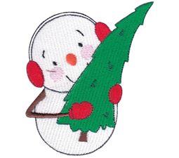 Christmas Tree Snowman
