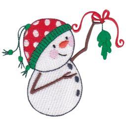 Mistletoe Snowman