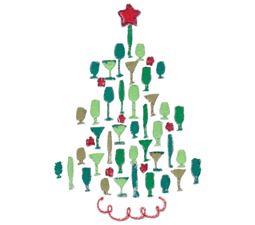 Cocktail Christmas Tree