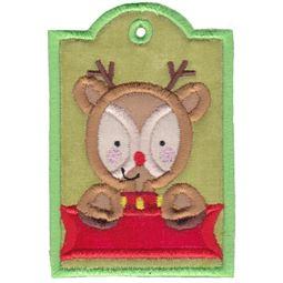 Reindeer Christmas Tag