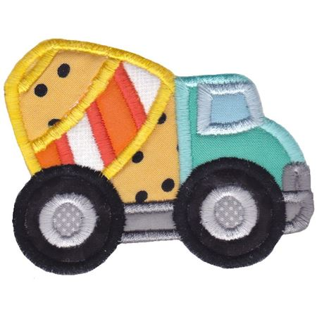 Cement Mixer Applique