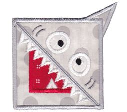 Shark ITH Corner Bookmark