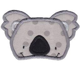 Koala Face Applique