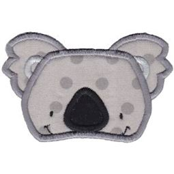 Koala Face Applique