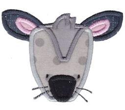 Mouse Face Applique