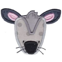 Mouse Face Applique