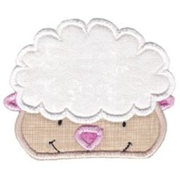 Sheep Face Applique