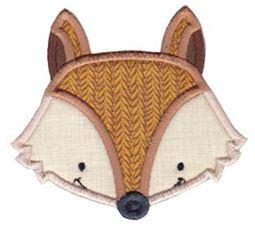 Fox Face Applique