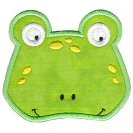Frog Face Applique