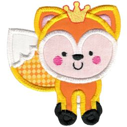 Princess Fox Applique