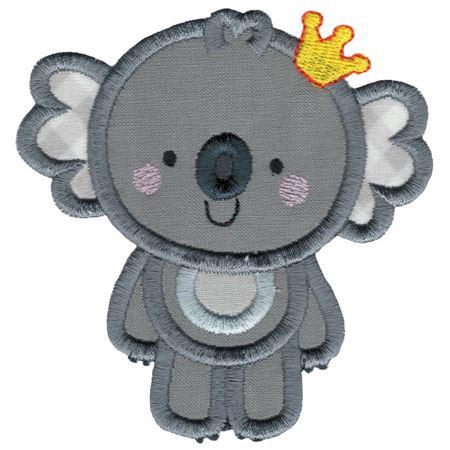 Princess Koala Applique