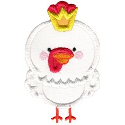Prince Rooster Applique