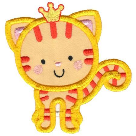 Princess Cat Applique
