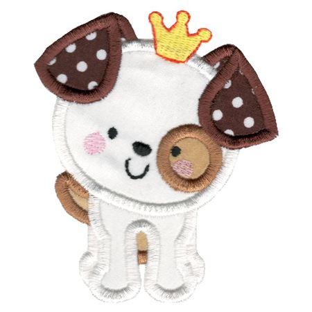 Princess Dog Applique