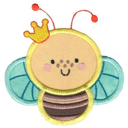 Princess Bee Applique