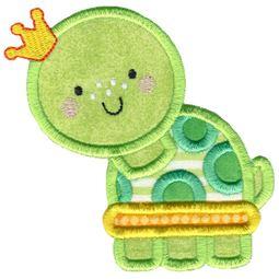 Princess Turtle Applique