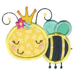 Applique Queen Bee