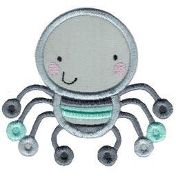 Applique Boy Spider