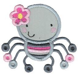 Applique Girl Spider
