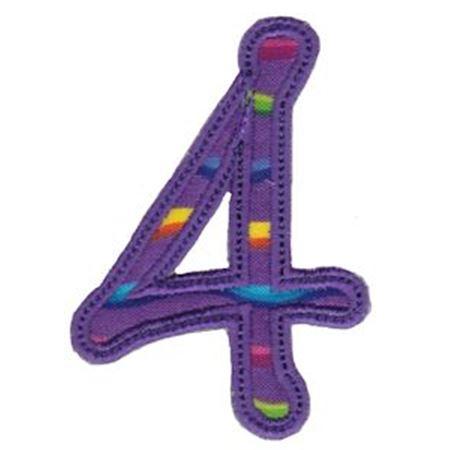 Curly Girl Alphabet Applique 4