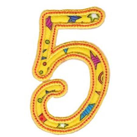 Curly Girl Alphabet Applique 5